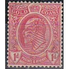 1908 Gold Coast Michel 61* 5.00 €