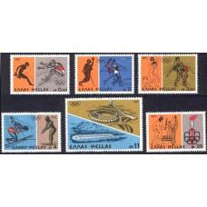 1976 Greece Mi.1240-1245 1976 Olympiad Montreal 2.00 €