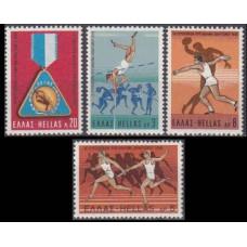 1969 Greece Mi.1006-1009 Sport 2,50 €