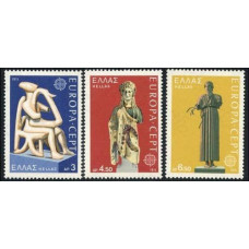 1974 Greece Mi.1166-1168 Europa 2,50