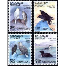 1988 Greenland Mi.181-184 Birds 9,00 €