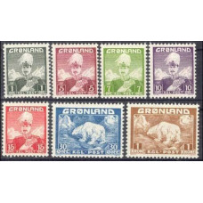 1938 Greenland Mi.1-7 Sea fauna 30,00 €