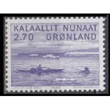 1982 Greenland Mi.136 Boats 0,90