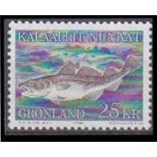 1981 Greenland Mi.129 Sea fauna 8,00 €