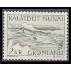 1975 Greenland Mi.92 Sea fauna