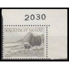 1970 Greenland Mi.75 Sea fauna