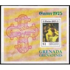 1975 Grenada - Grenadines Mi.70/B8 Tizian 1,50