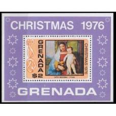 1975 Grenada Mi.724/B50 Giovanni Bellini