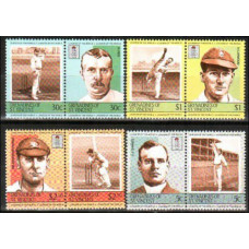 1984 Grenadines (St V) Michel 352-359 Cricket 6.00 €