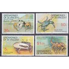 1977 Grenadines (St V) Mi.118-121 Sea fauna 2,30 €