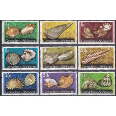 1974 Grenadines (St V) Mi.35-47 II Sea fauna 10,00 €