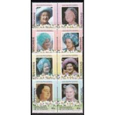 1985 Grenadines & St Vincent Mi.413-420Paar Elizabet II (SPECTMEN) 7,00 €