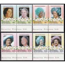 1985 Grenadines & St Vincent Mi.413-420Paar Elizabet II 3,50 €