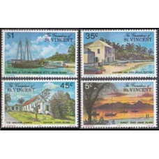 1976 Grenadines (St V) Mi.71-74 Ships with sails 1,60 €