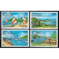 1975 Grenadines (St V) Mi.63-66 Ships with sails 1,90 €