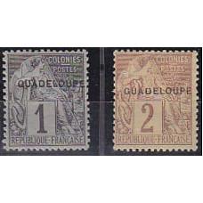 1891 Guadeloupe Michel 12-13* 4.20 €