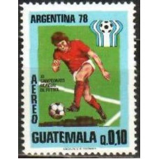 1978 Guatemala Mi.1092 1978 World championship on football of Argentina 0,60 €
