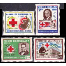 1964 Guatemala Mi.718-721 1964 Olympics Tokyo 6,40 €