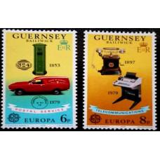 1979 Guernsey Mi.189-190 Automobiles / Europa 0,60 €