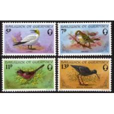 1978 Guernsey Mi.165-168 Birds