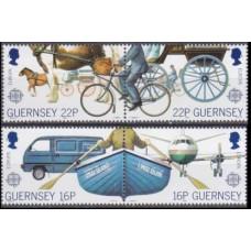 1988 Guernsey Mi.417-420 Transport / Europa 3,50 €