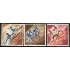 1964 Guinea Michel 239-241a Overprint - #176-78 orange 14.00 €