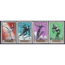 1964 Guinea Michel 235-238 1964 Olympiad Innsbruck 4.80 €