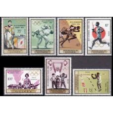 1965 Guinea Mi.265-271 1964 Olympics Tokyo 6,00 €