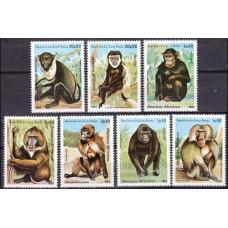 1983 Guinea-Bissau Mi.658-664 Fauna 7.50 €