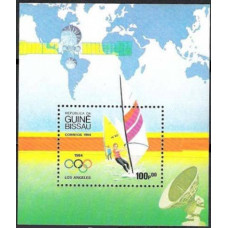 1984 Guinea-Bissau Mi.772/B260 1984 Olympiad Los Angeles 10,00 €