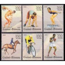 2005 Guinea-Bissau Mi.3121-3126 2008 Olympics in Beijing 7,00 €
