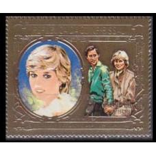1982 Guinea-Bissau Mi.632gold Diana 18,00 €