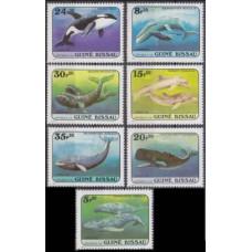 1984 Guinea-Bissau Mi.804-810 Sea fauna 10,00 €