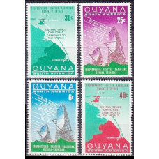 1968 Guyana Mi.326-329 Satellite Dish 1,10 €