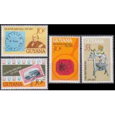 1979 Guyana Mi.561-564 Rowland Hill 3,20 €