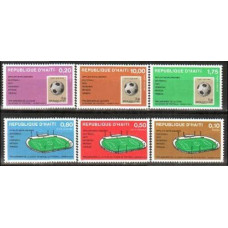 1973 Haiti Michel 1243-1248 Football 4.80 €