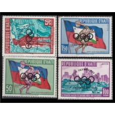 1960 Haiti Mi.595-598 Overprint # 581-585 9,00 €