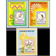 1972 Haute-Volta Mi.402/B6+403/B7+404/B8 1972 Olympiad Munhen 30,00 €