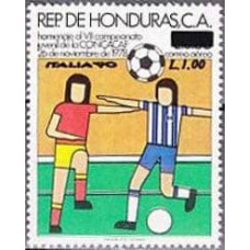 1990 Honduras Mi.1088 1990 World championship on football of Italien 1.50