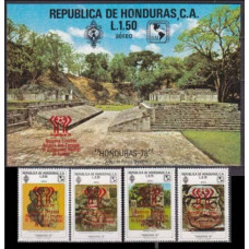 1978 Honduras Mi.937-940+B31 1978 World championship on football of Argentina 32,50