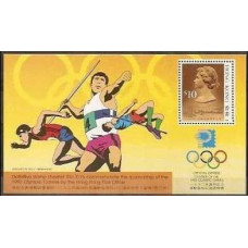 1991 Hong Kong Mi.519III/B19 1992 Olympiad Albertvele 60.00 €