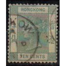 1882 Hong Kong Michel 38b used Victoria 50.00 €