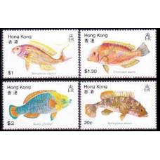 1981 Hong Kong Mi.368-71 Sea fauna 4,20 €