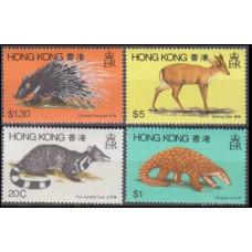 1982 Hong Kong Mi.384-87 Fauna 8,50 €
