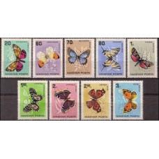 1966 Hungary Mi.2201-2209 Butterflies 6,50 €