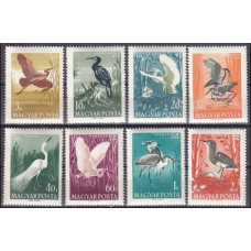 1959 Hungary Mi.1593-1600 Water birds 7,00 €