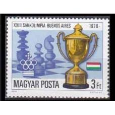 1979 Hungary Mi.3341 Chess / Olympiad Kamitet 1,70 €