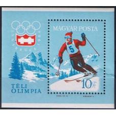 1964 Hungary Mi.1999/B40 1964 Olympiad Innsbruck 7,50 €