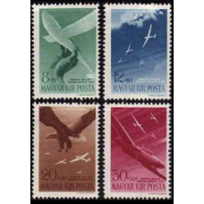 1943 Hungary Mi.731-34 Planes 4,00 €