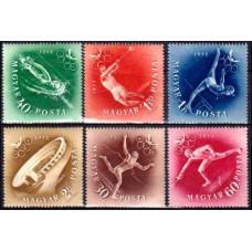 1952 Hungary Mi.1247-1252 1952 1952 Olympics Helsinki 10,00 €